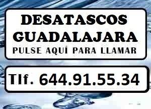 Desatascos Guadalajara Urgentes
